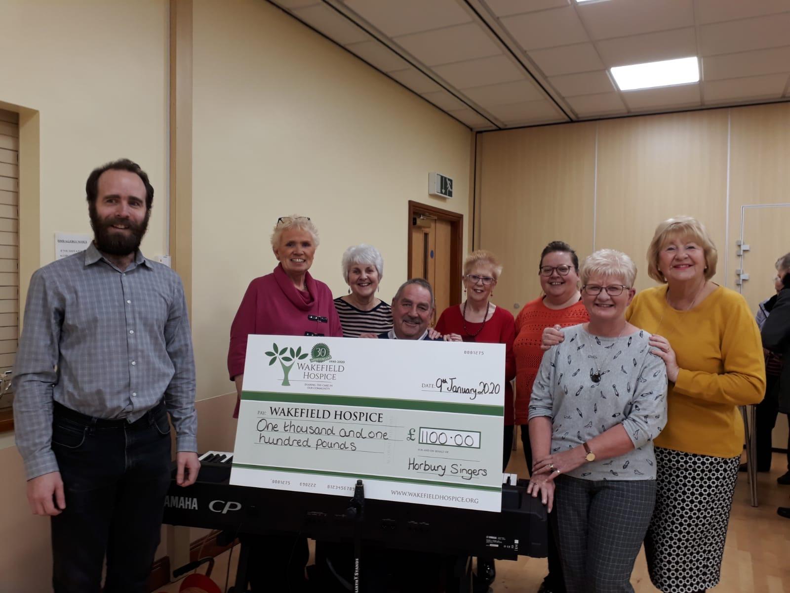 Wakefield Hospice Donation 2019
