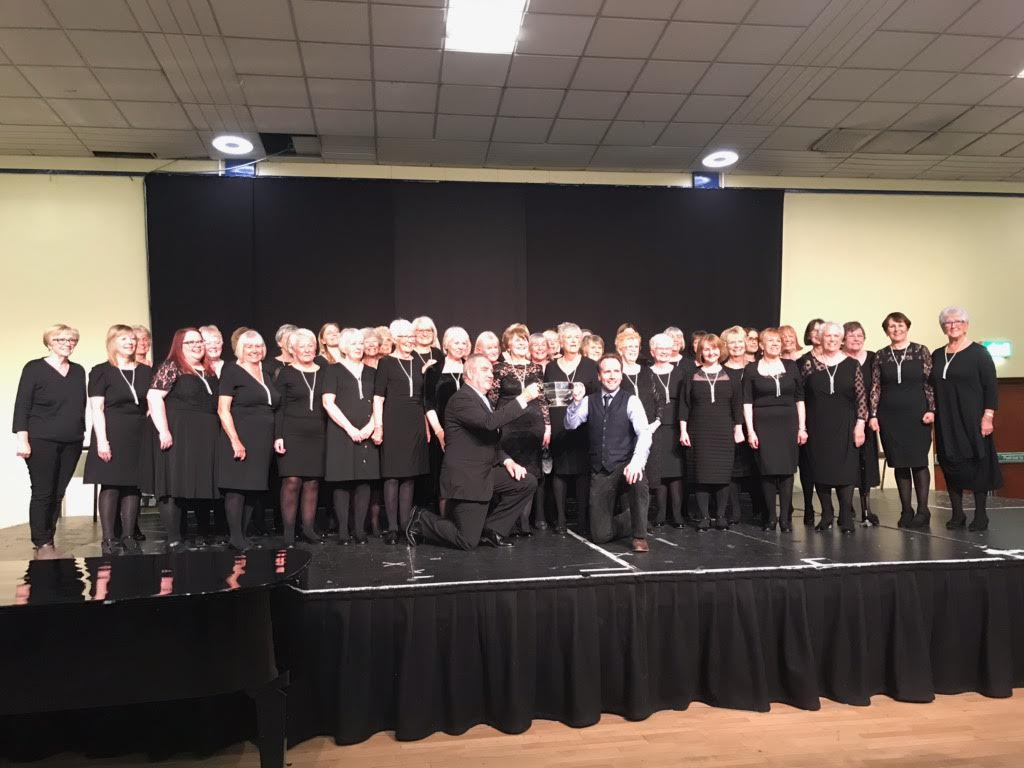 Horbury Singers take 1st place in the 2019 Eskdale Festival Recital Class