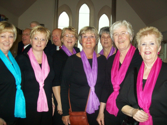 Concert at Belpher Methodist Church